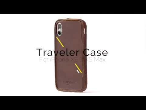 Traveler Leather Case For IPhone XS & XS Max