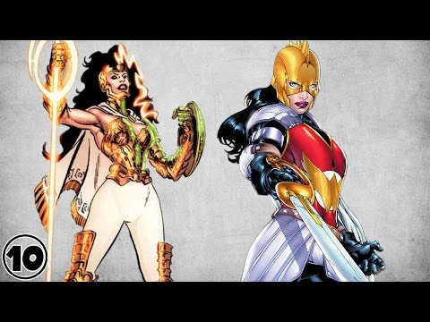 Top 10 Alternate Versions Of Wonder Woman