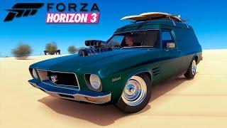 FORZA HORIZON 3 | #13 | FUI FAZER SURF (Português/60FPS)