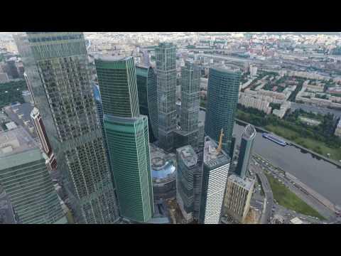 Москва-Сити. Вид сверху.
