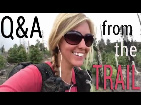 Spontaneous Q&A from the Trail - purifying water with bleach, daily mileage, Colorado, etc.