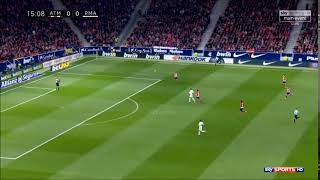 Juanfran vs Cristiano Speed (18/11/2017) Atletico Madrid vs Real Madrid