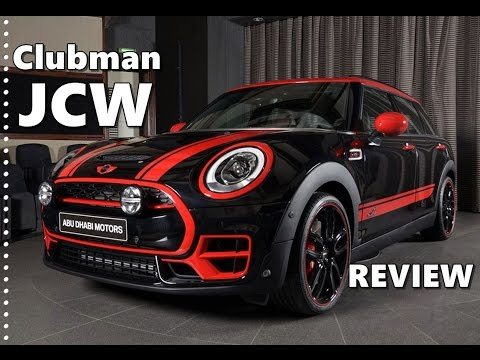 2017 Mini Clubman Jcw Review Midnight Black Special Edition Youtube