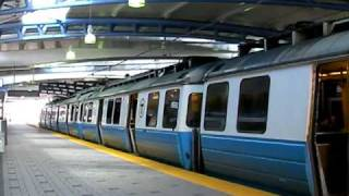 Boston Blue Line Trains @ Airport