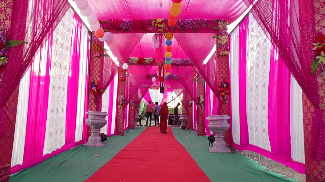 light decoration by shree ganesh tent bidoli & light decoration by shree ganesh tent bidoli - YouTube