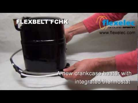 hqdefault crankcase heater flexbelt fchk with integrated thermostat youtube copeland crankcase heater wiring diagram at nearapp.co