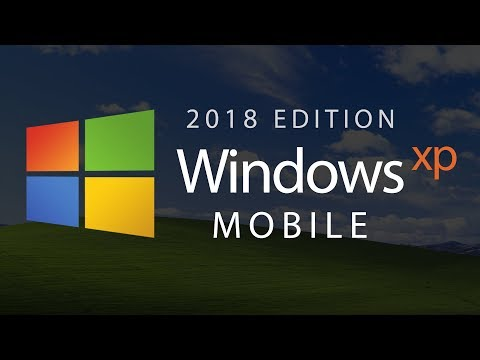 Windows XP Mobile — 2018 Edition (Concept By Avdan)