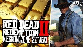 NIESKOŃCZONE ZŁOTE SZTABKI! GLITCH NA KASĘ! | Red Dead Redemption 2 PL [#10,5]