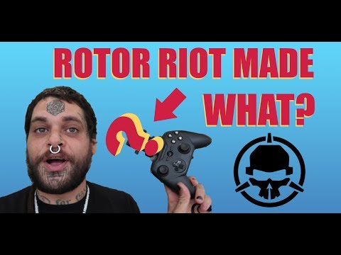 THE ROTOR RIOT CONTROLLER