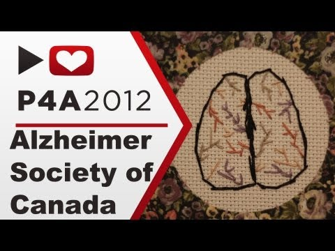 P4A 2012: Alzheimer Society of Canada
