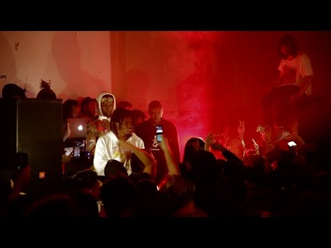 """Denzel Curry - """"Threatz"""" & """"Ultimate"""" - Live at Ham On Everything"""