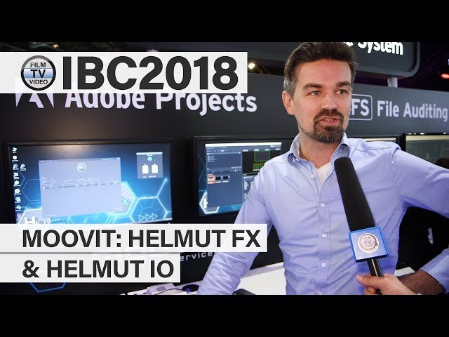 IBC2018: Helmut FX und Helmut IO