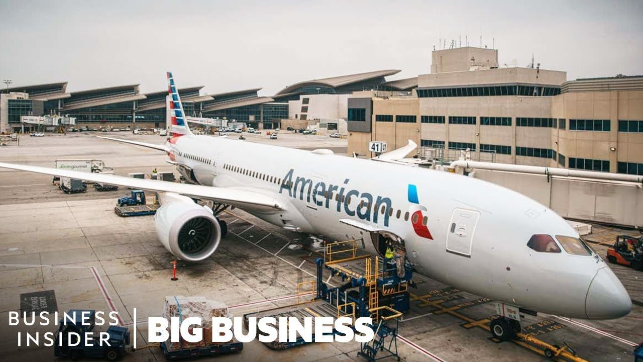 How American Airlines Moves 715,000 Pounds Of Cargo Each Day | Big Business