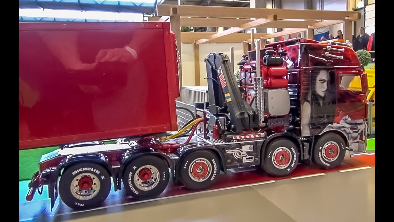 RC truck Action! Wonderful detailed R/C trucks and more! #1