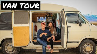 VAN TOUR Solo Female Traveler Falls in Love and Caravans with Boyfriend | One Couple Two Van Tours