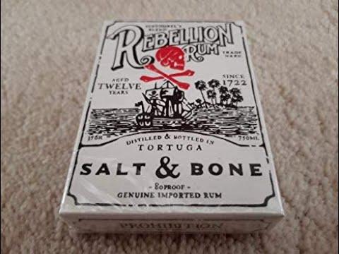 Rebellion Rum Salt \u0026 Bone Deck Review