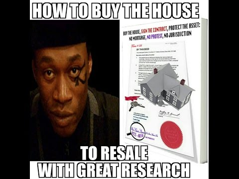 How to Buy the House and Sell It : Using the Best Research, Strategy, and Perspective