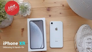 iPhone XR 128GB White Color - (Unboxing & hands-On)