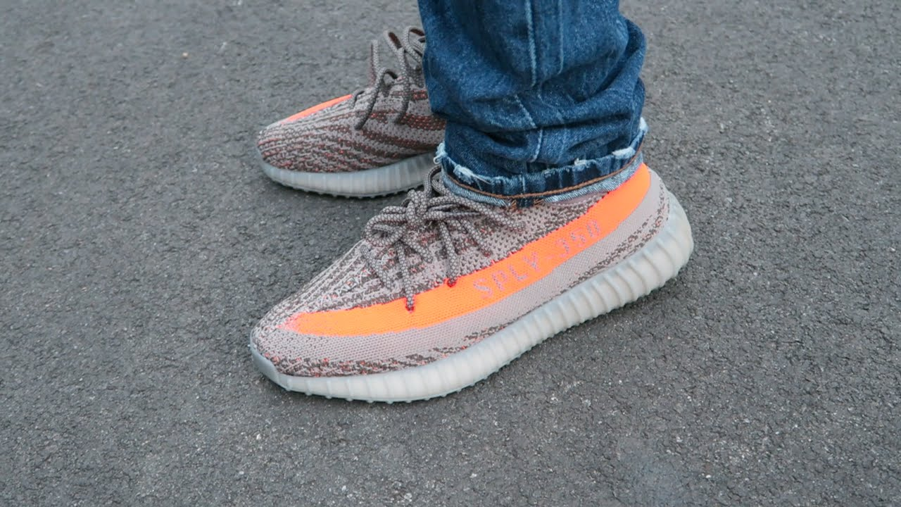 dc9c0f5cc86d3 ADIDAS YEEZY BOOST 350 V2   BELUGA   REVIEW AND ON-FOOT - YouTube