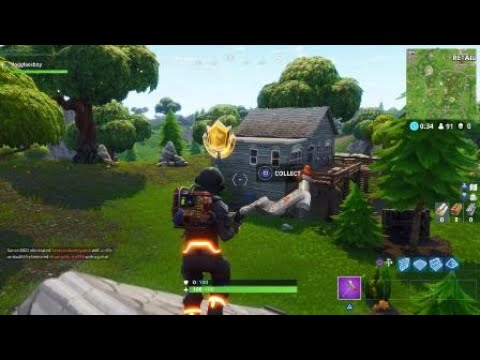 Fortnite: How To Find The Moisty Mires Treasure