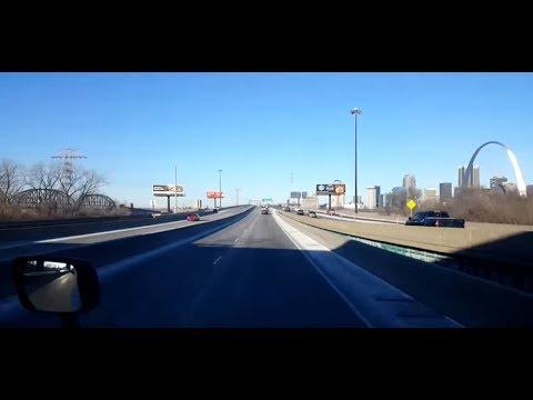 BigRigTravels LIVE! East St. Louis, Illinois to Tulsa, Oklahoma Interstate 44 West-Jan. 6, 2018