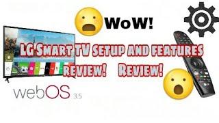 LG Smart TV setup and features review! Review! Review!!!      LG Smart 32LJ610D, 43LJ617T,49LJ617T