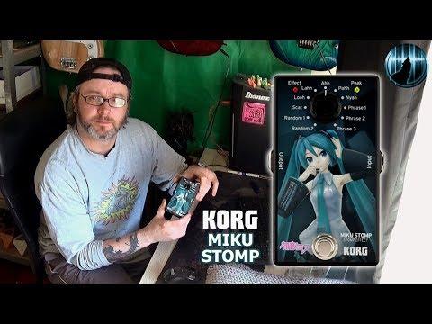 Korg Miku Stomp Review & Demo