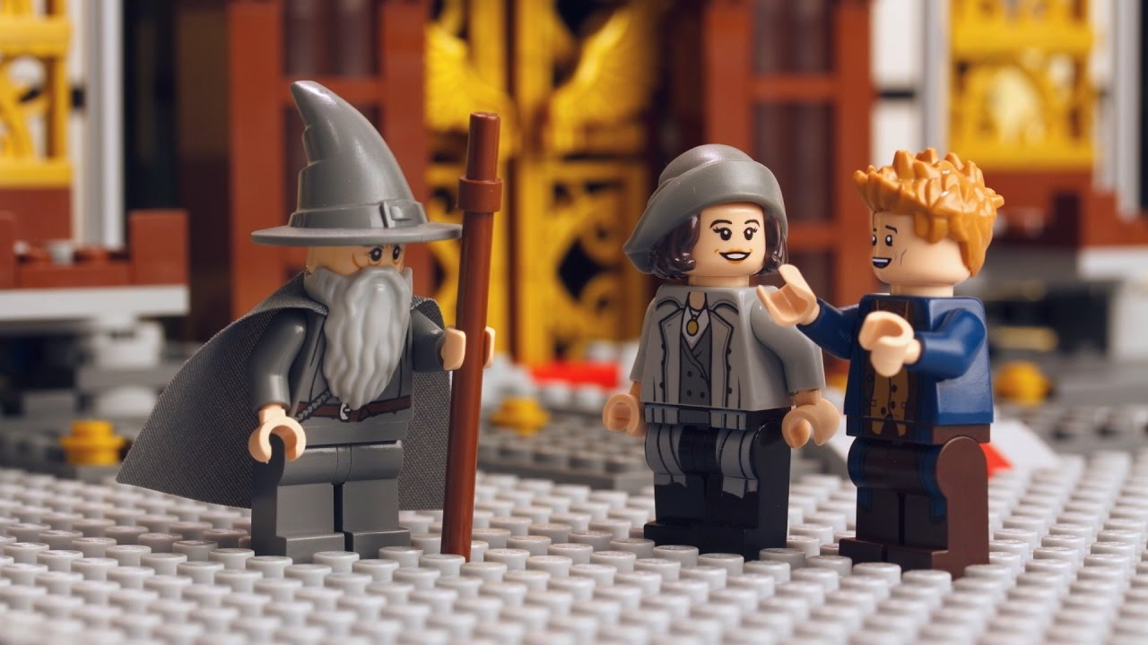 how to make lego gandalf the white