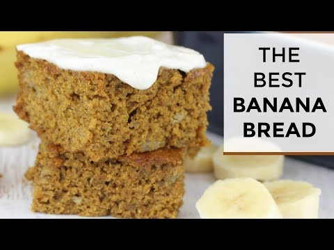 The BEST Banana Bread Recipe | Healthy + Easy