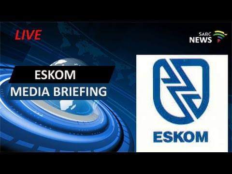 Eskom Media Briefing on State of National Grid: 12 May 2016