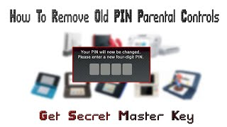 How To Remove Old PIN Parental Controls Of Nintendo 3DS / DSi / Wii/ Wii U