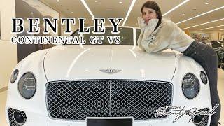 今回マギーが紹介したのは、BENTLEY CONTINENTAL GT V8‼ こだわりのフロント「マトリックスグリル」からV8エンジンならではの8の字マフラー、ベントレーオリジナルの ...