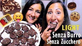 SALAME DI CIOCCOLATO Light Senza Burro e Senza Zucchero!!!