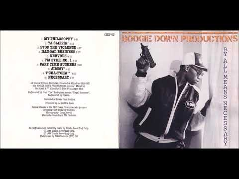Boogie Down Productions (BDP) - 'By All Means Necessary' (Full Album) [1988]