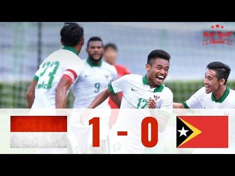 SEA GAMES 2017!!! Indonesia vs Timor Leste 1-0 Highlight & Goals HD