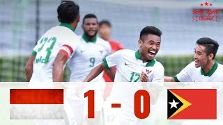 SEA GAMES 2017!!! Indonesia vs Timor Leste 1-0 Highlight & Goals HD