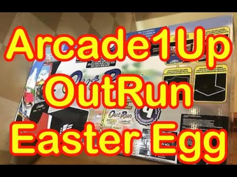 Arcade1Up OutRun Easter Egg Free Game Firmware Update How To Arcade 1Up from rarecoolitems