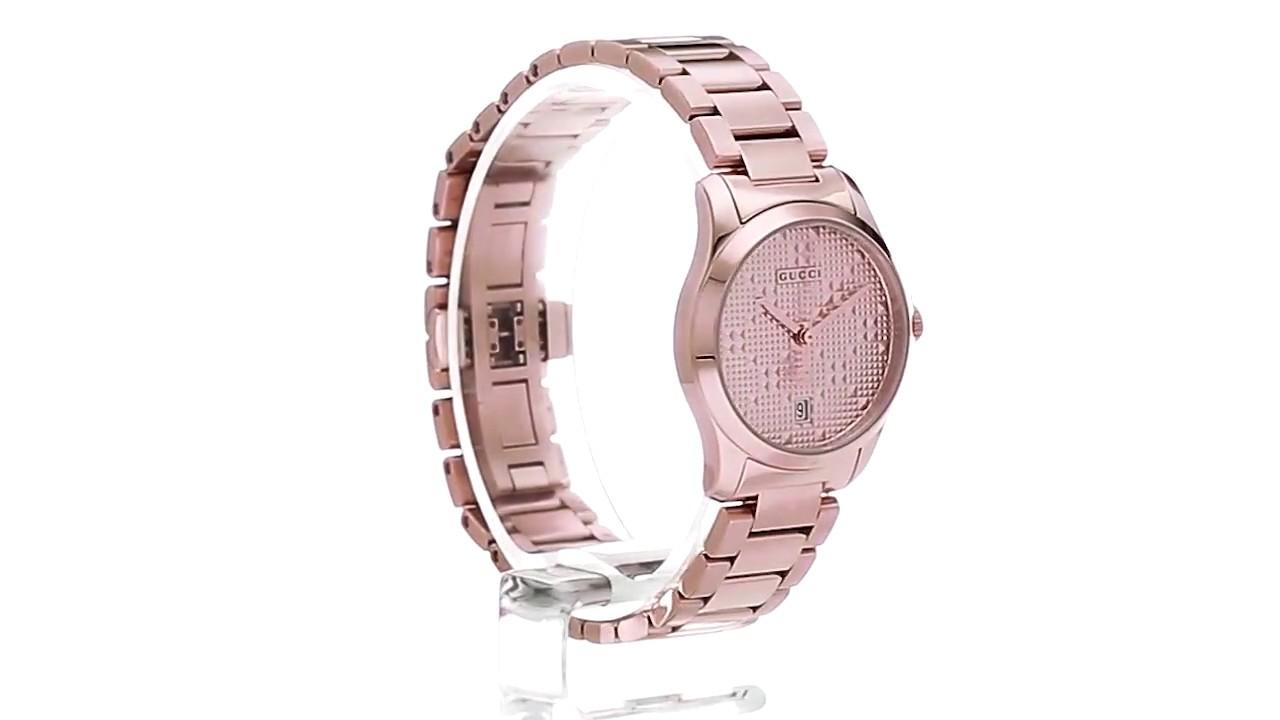 10eac500e6c Gucci G-Timeless - YA126567 SKU 8932126 - YouTube