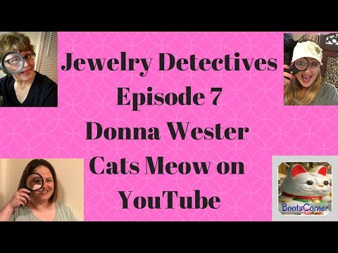 Jewelry Detectives Cats Meow Donna Wester Episode 7