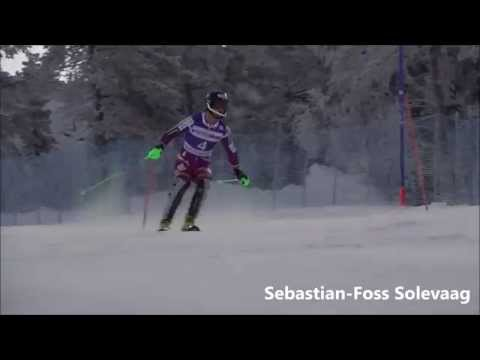 Levi Europa Cup Slalom 2014 Compilation