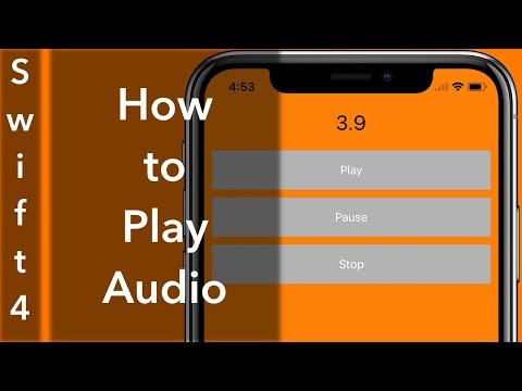Playing Audio (Swift 4 + Xcode 9.0)