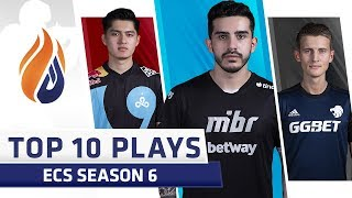 Top 10 ECS Plays of the Week - Volume 2 - Feat. coldzera, gr1m, valde!