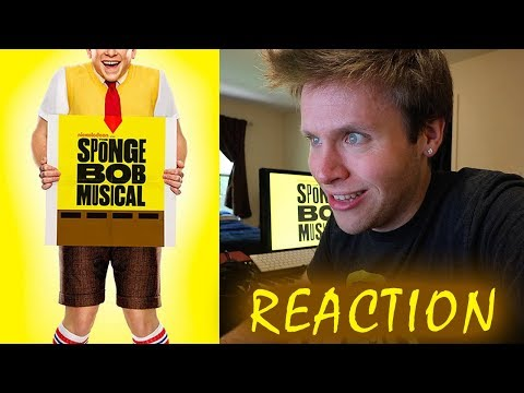 First Listen & Reaction to SPONGEBOB SQUAREPANTS the musical