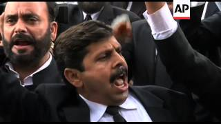 WRAP Lawyers in anti-US demo, prayers for bin Laden, Abbottabad demo