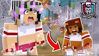 CHEER SQUAD TRYOUTS GO WRONG! BROKEN LEG! | Monster School | Minecraft Little Kelly