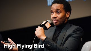André Holland, Zazie Beetz & Tarell Alvin McCraney on High Flying Bird | Film Comment Selects 2019