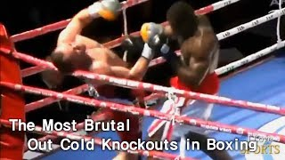 The most brutal out cold knockouts in Boxing