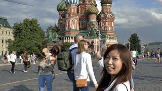Впечатления Японки Мики От Красной Площади в Москве