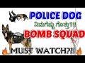 Dog Training Videos | Police Dog Squad - Bomb Squad | ಕಾರ್ಯಚರಣೆಯ ನೈಜ ದೃಶ್ಯಾವಳಿ |