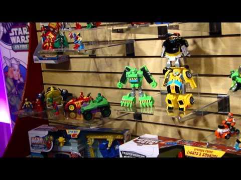Seibertron.com Toy Fair 2011 Playskool Transformers Rescue Bots